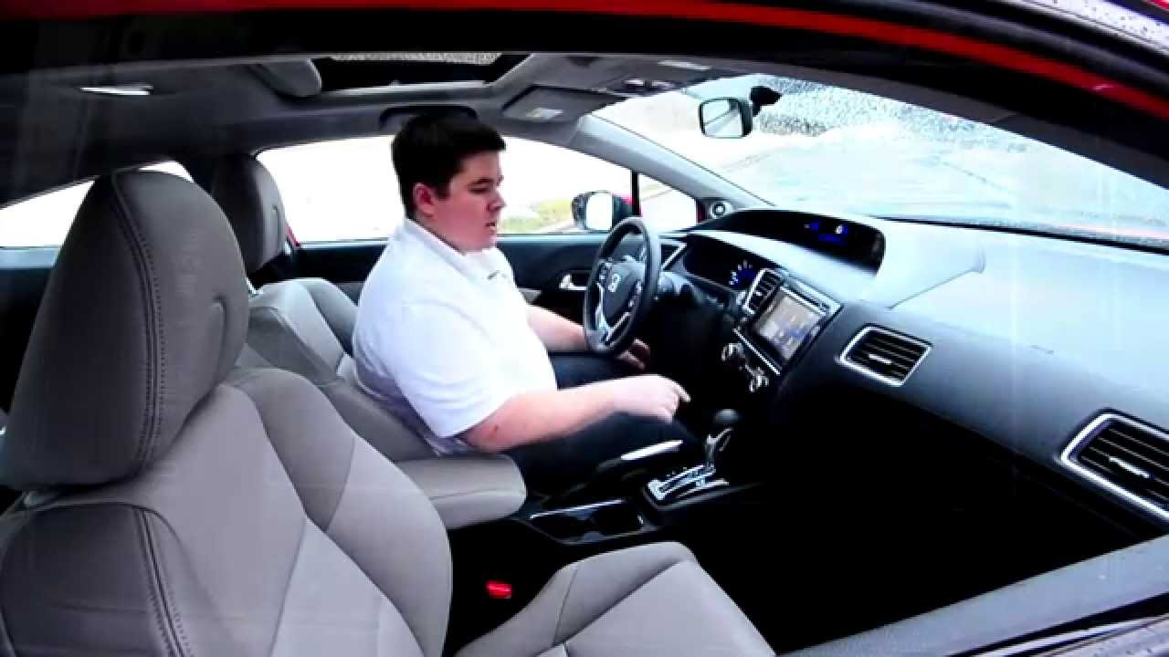 Honda Civic Ex-L >> IHS Auto Reviews: 2014 Honda Civic EX-L Coupe with HondaLink - YouTube