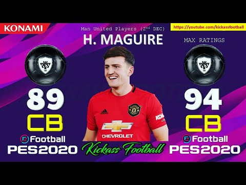 MANCHESTER UNITED CLUB SELECTION | PES 2020 MOBILE/PC