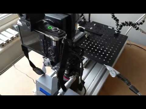 DIY automatic focus stacking rig