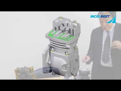 Curso Sistema neumático de Frenos  EL COMPRESOR