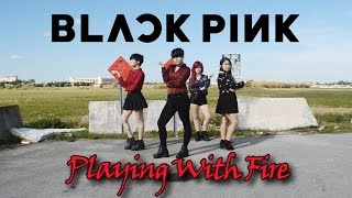 blackpink 불장난 playing with fire dance cover by gpk