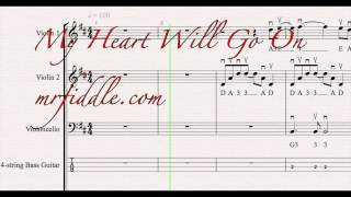 My Heart will Go On - String Orchestra Karaoke