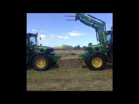 W.Sinton Contracting, Hay baling 2011-2012 NZ