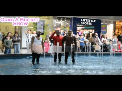Ballet in Blanchardstown Shopping Centre Fountain
