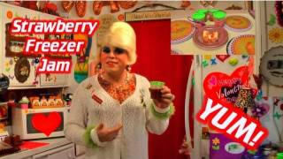 Strawberry Freezer Jam : Trailer Park Valentine's Gifts