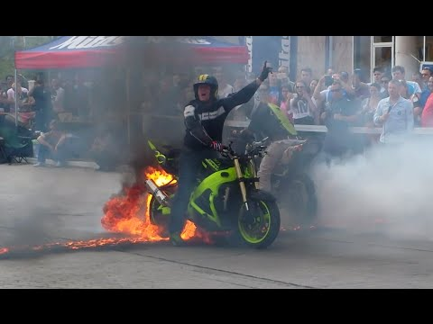 Moto Stunt Show @ Sebis Enduro Challenge 2015