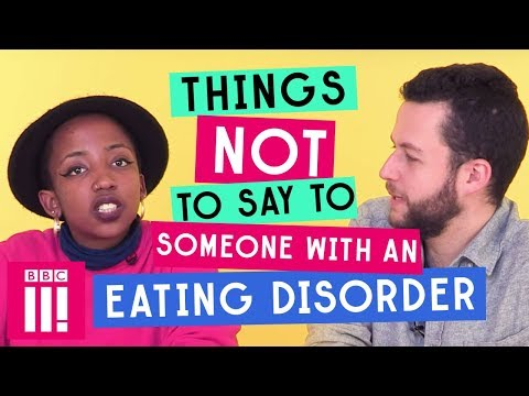 Dating someone with an eating disorder reddit