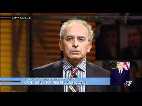 L'INFEDELE - La telefonata di Silvio Berlusconi a Gad Lerner