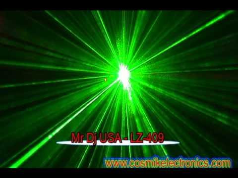Mr Dj USA - LZ-409 | DJ and Club Lasers.avi