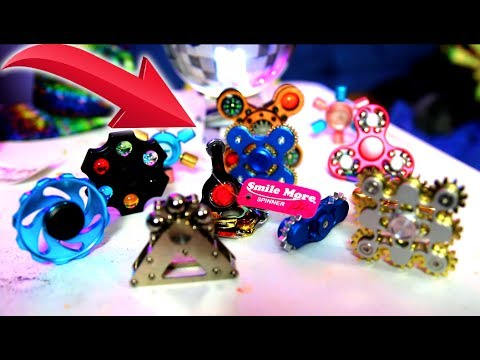 Thumbnail: TOP 10 COOLEST Fidget Spinners in The World! (RARE ROMAN ATWOOD NEW FIDGET SPINNER GIVEAWAY)