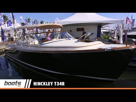 Hinckley T34R: First Look Video