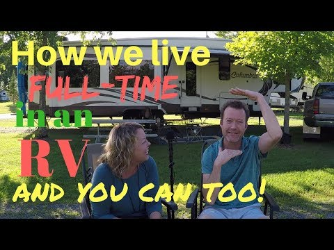 How we travel full-time in an RV