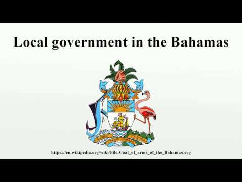 Local government in the Bahamas