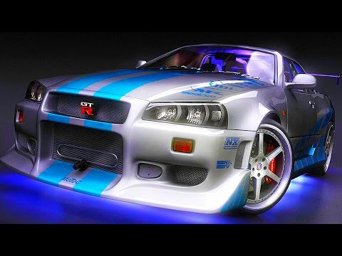 FAST & FURIOUS Paul Walker Skyline GTR - GTA 5 FAST & FURIOUS Stunts & Racing - GTA 5 FAST & FURIOUS