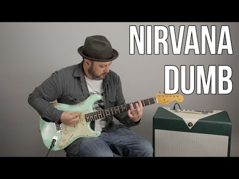 How to Play Dumb  Nirvana on guitar  Guitar Lesson