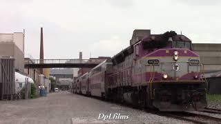 MBTA Equipment Move on the Grand Junction Running Track