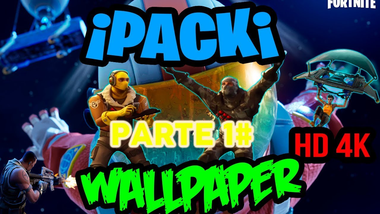Pack Wallpapers De Fortnite Para Pc Hd 4k Youtube