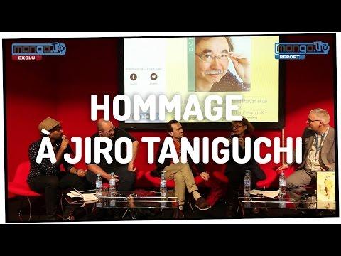 HOMMAGE À JIRO TANIGUCHI - Conférence au Livre Paris 2017