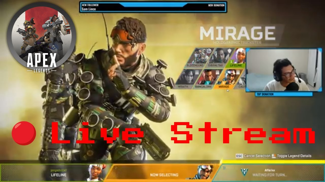 This Game Is The Best Battle Royale Game I Have Played! - Apex Legends Live  stream Gameplay