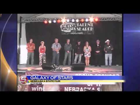 News 5 at 6 - Galaxy of Stars at the Nebraska State Fair / August 28, 2014