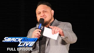 WWE SmackDown LIVE Full Episode, 14 August 2018