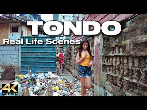 Download Exploring TONDO Manila Philippines - Virtual Look [4K]