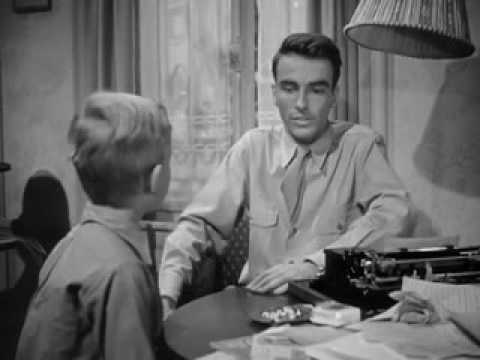 Montgomery Clift - sweet scene from  The Search 1948