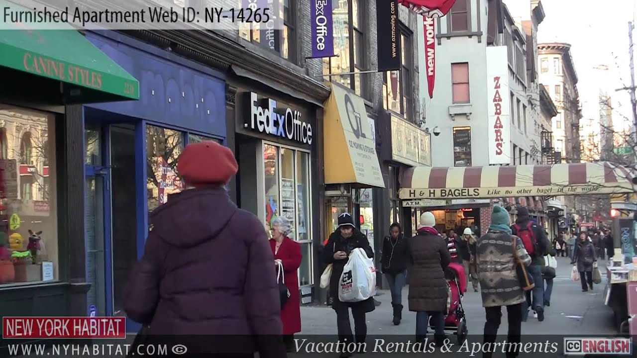 new york city video tour of a furnished apartment on 88th street