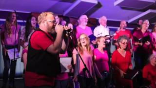 With a little Help from my friend by the TOFINO CHOIR FOR GROWN-UPS featuring Cameron Dennison