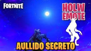 * NEW * HOWL SEGREDO COM EMOTE HOWL Fortnite: Battle Royale