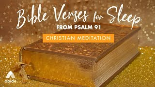 Psalm 91: Bible Verses for Sleep with Relaxing Music | Let Go & Be Still with Angels To Protect You
