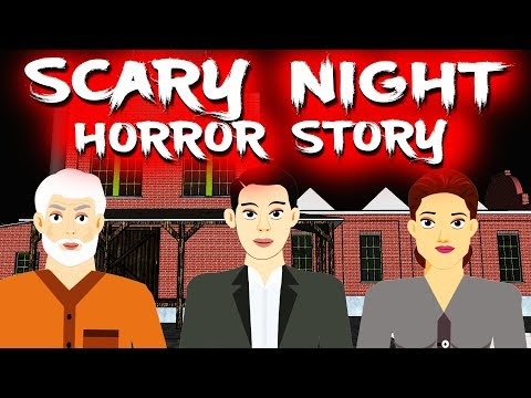 Scary Night Horror Story | Animated Horror Stories Your Videos on VIRAL CHOP VIDEOS