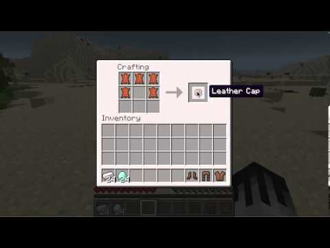 How To Make Leather Shoes Minecraft
