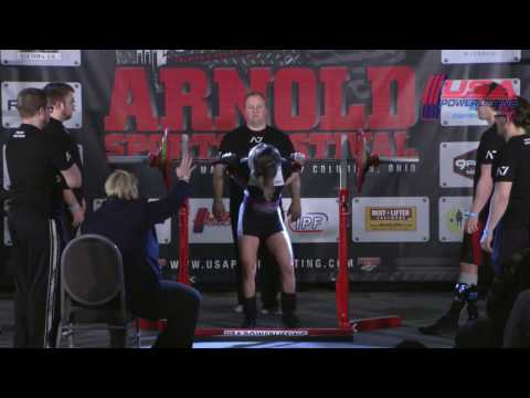 USA Powerlifting A7 Bar Grip Pro Raw Challenge at 2017 Arnold Sports Festival