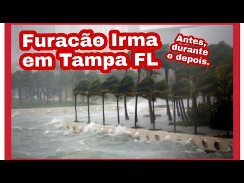Furacao Irma: Antes, durante e depois em Tampa Fl.