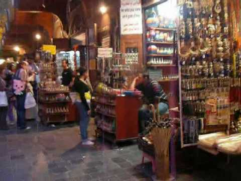 Syria: Walking through the Damascus Old City ダマスカス旧市街を歩く