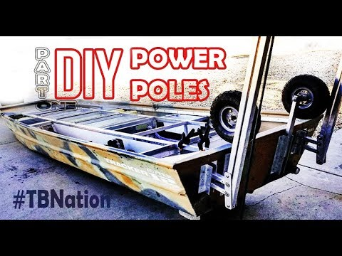 DIY power poles / Shallow Water Anchors for jon boats & Kayaks - Part One: #TBNation