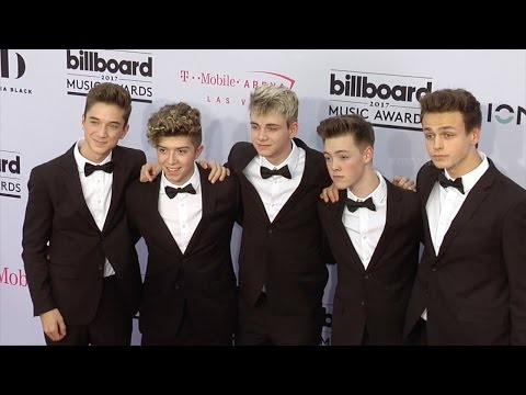 Why Don't We 2017 Billboard Music Awards Magenta Carpet
