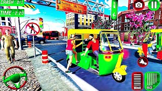 Tuk Tuk Chingchi Driving Simulator - City Rickshaw Driver Parking - Android GamePlay #3 screenshot 5