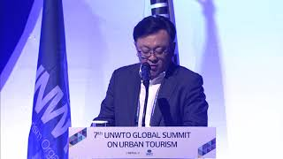 Session 3 at the 7th UNWTO Global Summit on Urban Tourism