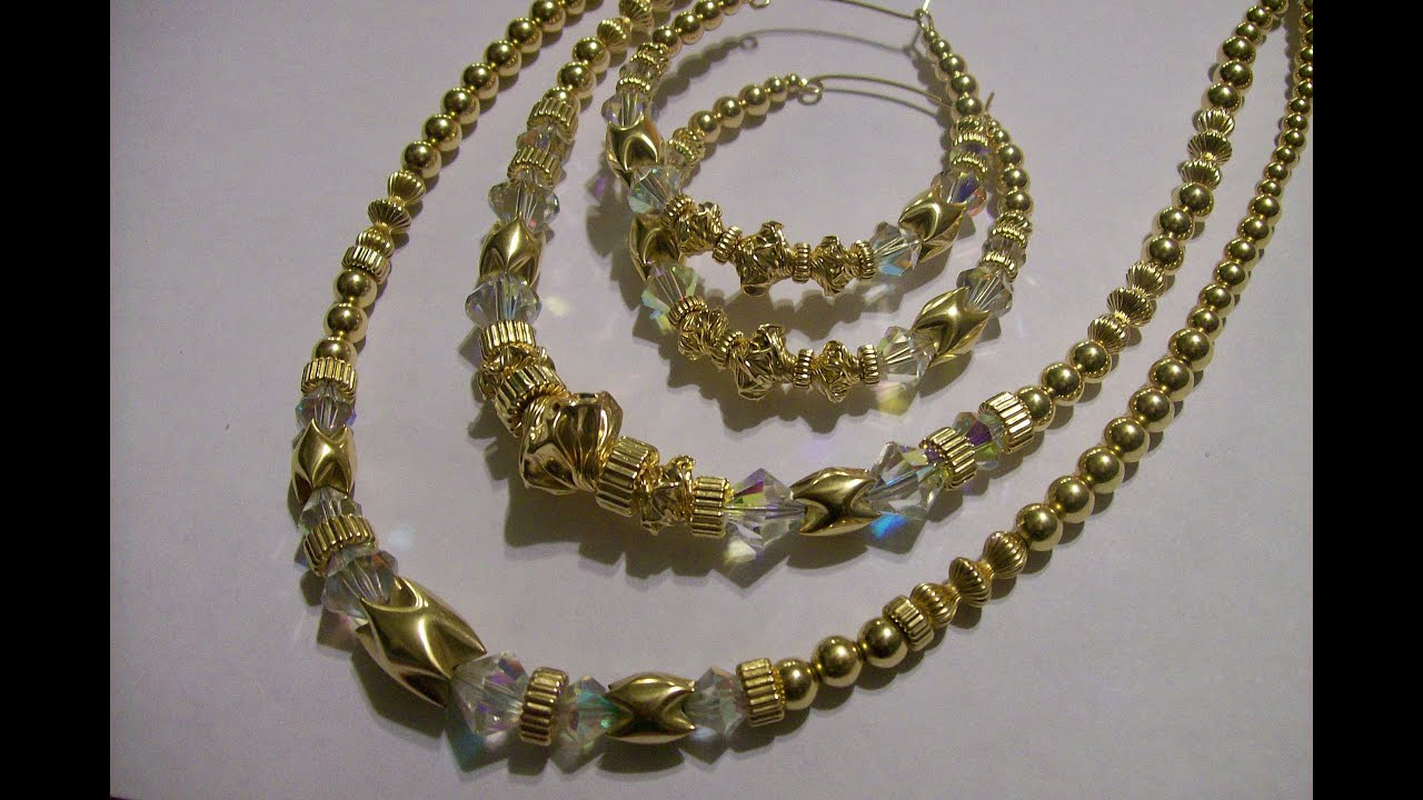 Gold Filled Beaded Jewelry by Dara T YouTube