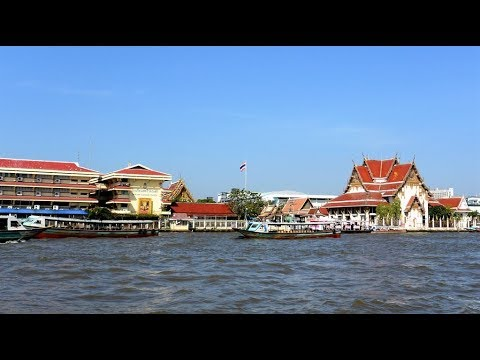 CHAO PHRAYA RIVER CRUISE - With Hop On Hop Off Boat, Bangkok, 2018