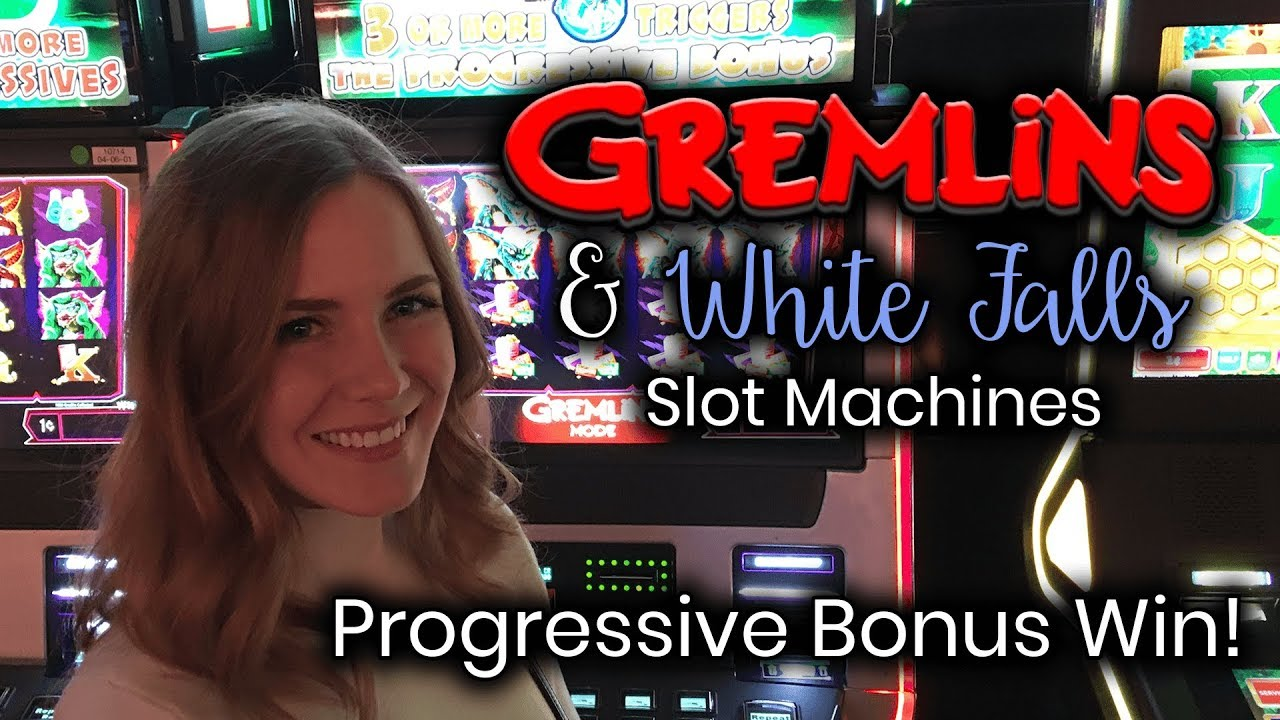 White falls slot machine bonus