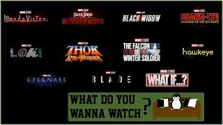 MCU Phase 4 Reveal (A Broken News Report)   What Do You Wanna Watch? (Audio Podcast)