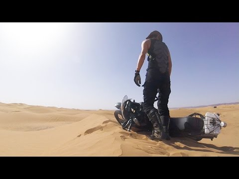 Sahara motorcycle adventures (Please activate subtitles)