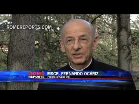 """First interview with the Prelate of Opus Dei: """"I am very grateful to the pope"""""""