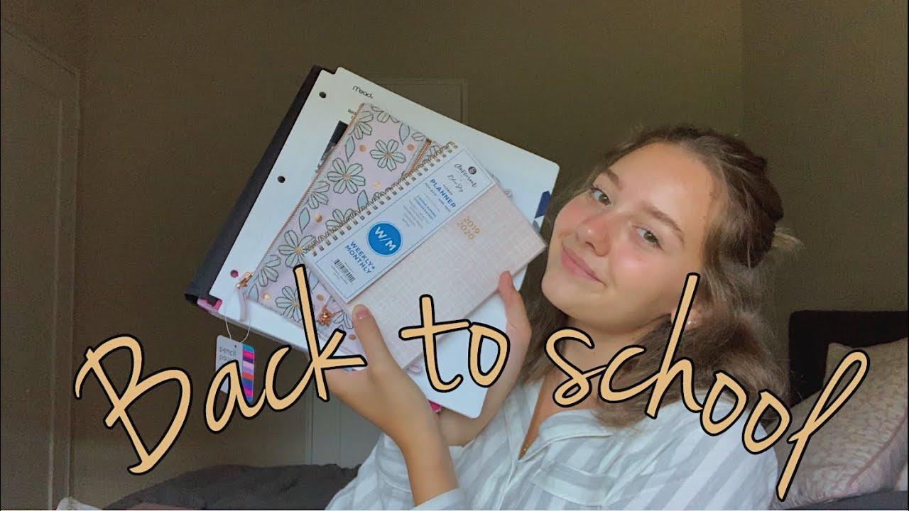 BACK TO SCHOOL საკანცელარიო + ვლოგ