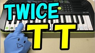 【TT】TWICE(트와이스) 簡単ドレミ楽譜 初心者向け1本指ピアノ