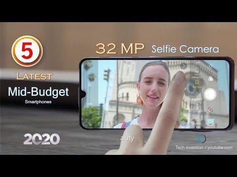 TOP 5  Budget Smartphones With 32 MP Selfie Camera To Buy In 2020
