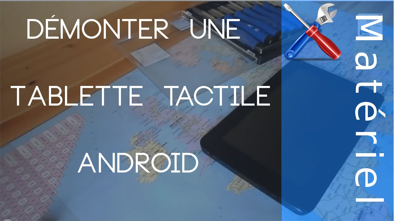 d monter une tablette tactile android classique tutoriel youtube. Black Bedroom Furniture Sets. Home Design Ideas